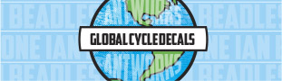 Global Bicycle Stickers